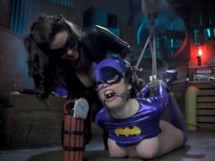 Catwoman Turns Batgirl into Buttgirl