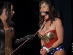 Wonder Woman Dominated By Villainess To Become Sex Slave