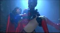 Accel Girl Falls To Villainous Creature