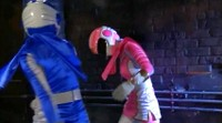 Corrupted Blue Ranger Helps Villains Capture Pink Ranger 1