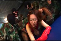 Drugged Super Heroine Gang Banged By Military Personnel