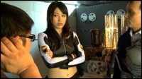 Sexy Japanese Space Police Woman Battles Alien Villains 3