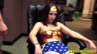 Wonder Girl Will Do Anything For Charity