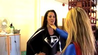 Superwoman Versus The Unwanted Guests