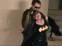 Burglar Has A Surprise For Batgirl