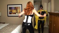 Bat Girl Bound And Anally Violated
