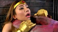 GHOR 41 Part 1 Busty Japanese Wonder Woman Beaten