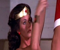 The Original Wonder Woman Upside Down