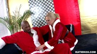 Katie Kox Is Black Santas Ho Ho Ho