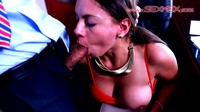 Big Tits Latina Hypnotized To Suck Cock