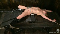 Blonde Heroine Pussy Vibration Torture