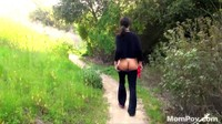 Hot Ass MILF Nature Trail Fuck