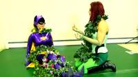 Ivy Entangles Batgirl