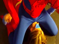 Hypnotized Spidey Beats Down Superheroine