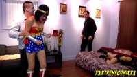 Superheroines Beaten By Super Zombie