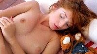 Foxy Red Head Pleasures Herself