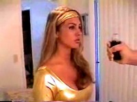 Superheroine Hypnotized And Stripped