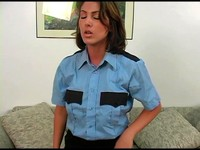 Sexy Police Woman Brain Washed