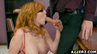 Big Tits Ginger Loves A Hard Cock In Her Ass 4