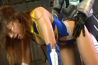 Japanese Heroine Beaten And Violated