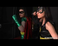 Batgirl And Robin Time Stop Training