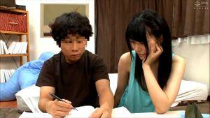 Japanese Cutie Tutors Step Brother