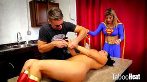 Wonder Woman Gets Her Sexy Ass Punished
