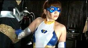 Petite Japanese Superheroine Humiliated By Bugman