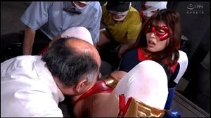 GHKR 54 Japanese Superheroine Defeated And Humiliated
