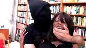 Sexy Ebony Agent Captured And Molested Part 1