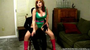 Sexy Heroine Bound And Hypnotized