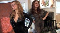 Catsuit Catfight With Candle Boxxx And Jacqueline Velvets