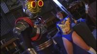 Lovely Japanese Heroine Battles Monster To Save Friend