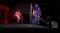 Gretel Dominates Batgirl to Be Her Bondage Pet