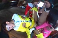 Japanese Ranger Girls In Group Sex With Their Captors 2