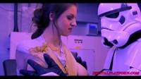 Captured Jedi Uses Her Mind Fuck Techniques To Escape Storm Trooper