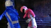 Corrupted Blue Ranger Helps Villains Capture Pink Ranger 1
