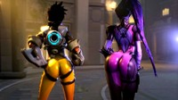 Tracer And Widowmaker Shake Their Money Makers