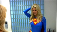 Sexy British Blonde Becomes Supergirl In Wish Fulfillment 1