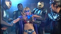 Busty Blonde Asian Heroine Gets Fucked By Henchmen 1