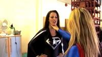 Superwoman Versus The Unwanted Guests