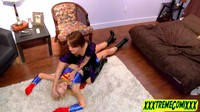 Supergirl Becomes Sorceresses Lesbian Play Toy