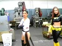 El Diablo Uses His Dazzling Moves To Defeat Heroine Duo