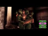 3D Animation Monsters Double Stuff Rich Adventuress