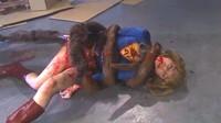 Destruction Of Blonde Japanese Super Girl