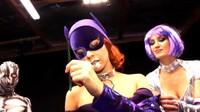 Bat Girl Beat Down In Wrestling Ring 2
