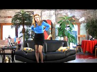 Hypnotized Blonde Session 1 Part 13