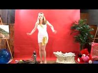 Hypnotized Blonde Robot Movie Part 1