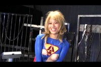 Villainess Has Fun With Blonde Japanese Super Lady 4 (Outtakes)