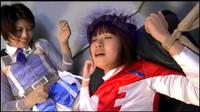 GHPM 76 Part 3 Cute Japanese Heroine Slave